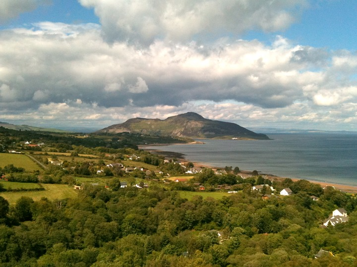Holy Isle from Whiting Bay